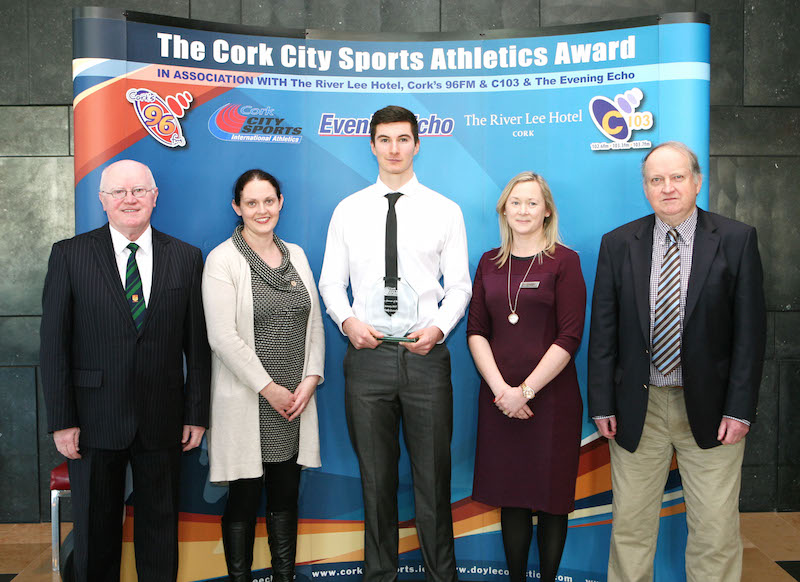 sam healy is the cork city sports athlete of the month for january