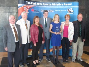 Lizzie-Lee-Cork-City Sports-Star-of-the-Month-February-2015--Leevale-Group