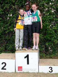 Ella Scott 2nd in 60m