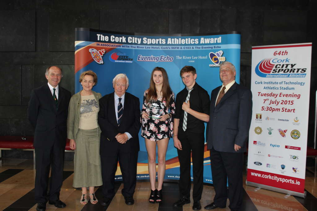 cork city sports athlete of the month for may, river lee hotel