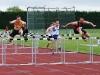 Dennis Finnegan in 100m hurdles
