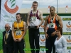 100m final medallists, Derek Duff, Paul Hession, Darragh Graham