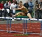 Derval O\' Rourke easily wins the 100m hurdles