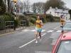 Annette Quaid leads Jessica Vonhatten into the finish