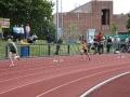 Katey Byrd - 4x100m action shot 2