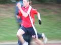 Sprint action with Arthur Zebo