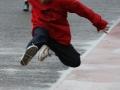 Long jump action