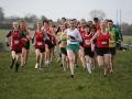 Start of the Senior Women\'s race