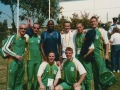 Group shot taken at Olympic training facilities