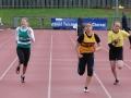 U13 girls sprint final
