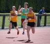 100m - Dan Lawson & John Corr in action