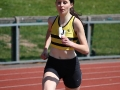 800m - Sinéad O\'Connor on her way to victory