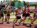 Graham O\'Riordan & James Grufferty in action in the early stages of the 800m