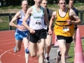 1500m - Barry Donovan at the head of affairs