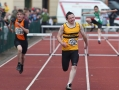 Leevale\'s Darren Lee competing in  the U15 boys Hurdles Heats, Darren went on to claim the silver medal in the final.Munster Juvenile Athletics Championships, Castleisland Co Kerry, 13-06-2010