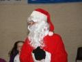 Santa warms up