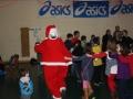 Santa leads the way
