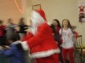 Santa too fast for the camera!