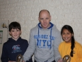 Shane Aherne and Andrea Ring with Derek Coffey