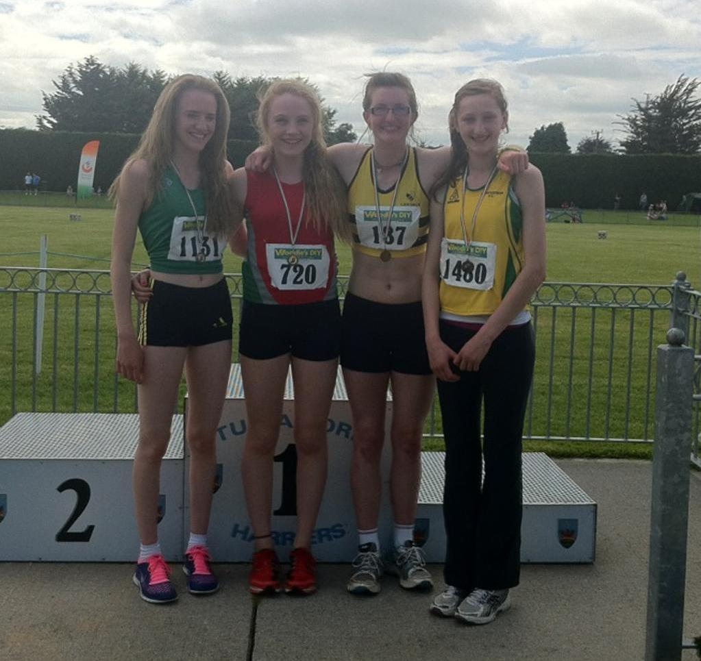 Molly Healy third in GU15 HJ, 1.50m