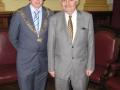 Liam Hirgan & Lord Mayor John Buttiner