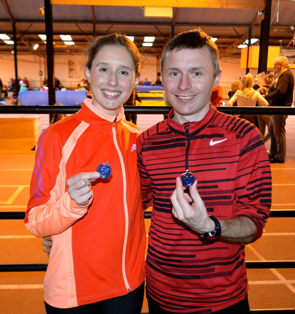 Sinead O'Connor & James Grufferty 3K Senior Munster Champions
