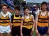Sprints relay team